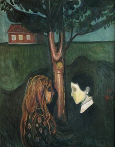 Eye in Eye  Edvard Munch, 1894