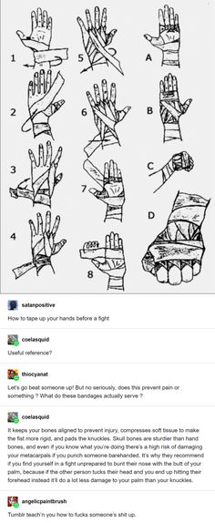 G satanpositive Useful reference? e thiocyanat Let's go beat someone up! But no seriously, does this prevent pain or something What do these bandages actually serve - iFunny :) Tumblr Stuff, Tumblr Posts, Writing Tips, Writing Prompts, Weird Facts, Fun Facts, Tumblr Funny, Funny Memes, Jiu Jutsu