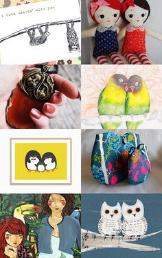 Doubles by Monique Fowler on Etsy--Pinned with TreasuryPin.com