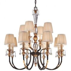Metropolitan Lighting N6649-258B Bella Cristallo 12 Light Large Foyer Chandelier.More details visit pricemylight.com