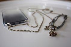 DIY Handy Necklace | Eine Handykette einfach selber machen Diy Blog, Mp3 Player, Hacks, Phone, Manualidades, Diy, Handarbeit, Telephone, Mobile Phones