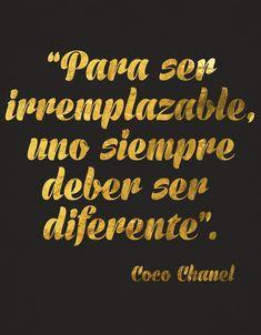 #Irremplazable #diferente