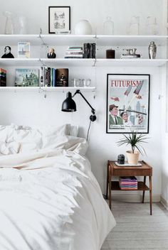 Home Remodel Steps 46 Awesome Small Bedroom Design Ideas To Get Comfortable Sleep.Home Remodel Steps 46 Awesome Small Bedroom Design Ideas To Get Comfortable Sleep My New Room, My Room, Dorm Room, Spare Room, Small Bedroom Designs, Design Bedroom, Small Bedroom Layouts, Organizing Small Bedrooms, Storage For Small Spaces