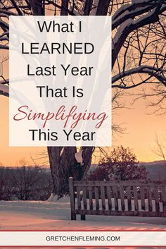I feel so ready for this year .......and that is just not like me! Usually, I am cautious or skeptical of what the new year MAY hold. But I am finally learning some lessons that are giving way to freedom, even confidence. Why not drop by to discover what I'm learning?