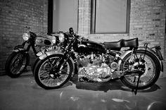 1953 Vincent Black Shadow - Seriously gorgeous motorcycle.