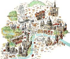 Vintage Illustration London