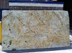 New Colonial Cream Granite Counter Top Design