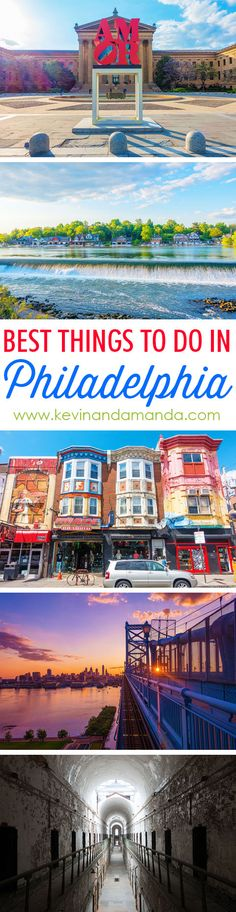 Wondering what to do in Philadelphia? Here are the BEST things to do in Philadelphia. Use this guide as a checklist so you don't miss anything! Dc Travel, Places To Travel, Family Travel, East Coast Travel, East Coast Road Trip, Visit Philadelphia, Philadelphia Things To Do, Visit Philly, Philly Pa