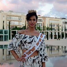 First ever Miss Trans Israel Talleen Abu Hanna crowned in Tel Aviv