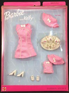 Barbie Fashion Avenue Barbie and Kelly Tea Time