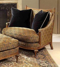 Century Signature (11-404) Balboa Chair #housebeautiful and #dreamlivingroom