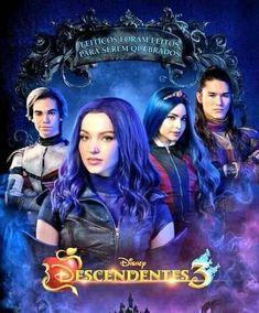 Descendants Characters, Disney Descendants 3, My Folder, Cameron Boyce, Disney Channel, Wallpapers, Actresses, Movie Posters, Pictures