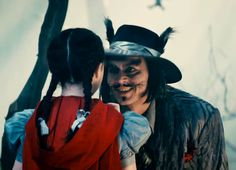 Little red & Mr. wolf. Into The Woods. This movie is so good/