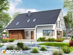 Dom w idaredach Simple House Plans, Modern Exterior, Luxury Life, Home Fashion, Modern Design, Outdoor Structures, Mansions, Interior Design, House Styles