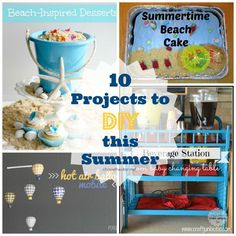 10 Summer DIY Projects | Create Craft Love