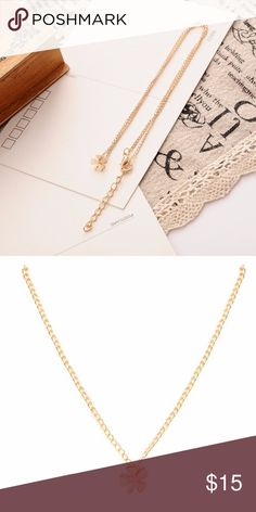 Happy Women's Day 👠💄🕶Special Price only today❗️ Lucky 🍀 Necklace. Gold Plated. Jewelry Necklaces