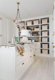 Antique-Style Closet