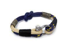 Paracord bracelet/Mens bracelet/Nautical bracelet/Sailor