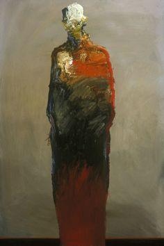 """Saatchi Online Artist: Dan McCaw; Oil, 2010, Painting """"""""Frozen"""""""""""