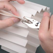 Hole-as-guide Paper Medallions, Hole Puncher