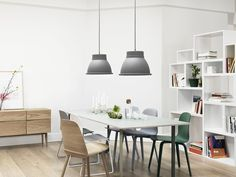 Buy Muuto Nerd Dining Chair online with Houseology Price Promise. Full Muuto collection with UK & International shipping. Retro Interior Design, Apartment Interior Design, Rustic Apartment, Interior Designing, Luxury Interior, Modern Design, Modern Scandinavian Interior, Scandinavian Style, Scandinavian Furniture