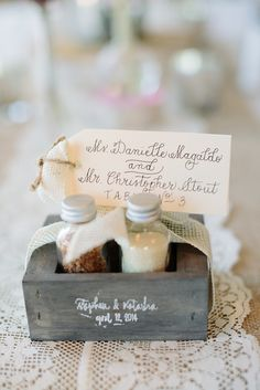 View entire slideshow: Fun Food Favors on http://www.stylemepretty.com/collection/2130/