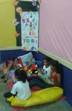Arte em ensinar e aprender: Reading corner ....sucess ♥♥♥
