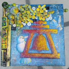 Gallery - Riverside, CA Artist, Mindy Griffith Fine Art Studio Crow, Mixed Media, California, Fine Art, Studio, Canvas, Gallery, Artist, Artwork