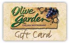 $100 gift card to Olive Garden #manillamoms