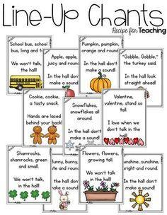 Kindergarten Songs, Kindergarten Classroom Management, Preschool Songs, Kindergarten Procedures, Preschool Behavior Management, Class Management, Morning Meeting Kindergarten, Morning Meeting Activities, Kindergarten Calendar Math
