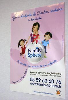 #AFFICHE // Format A3 // papier 90g couché demi mat. www.family-sphere.com/agence-173.html
