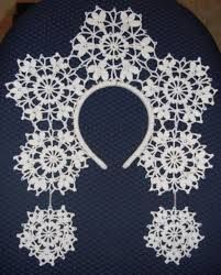 Картинки по запросу корона снежинки своими руками