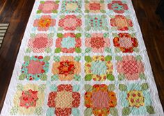 Latimer Lane: Client Quilts  flower girl