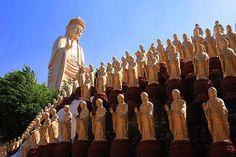Fo Guang Shan Monastery. Kaohsiung #Taiwan 佛光山