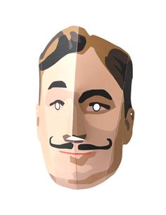 Strongman: printable paper mask! *free download* by Appracadabra