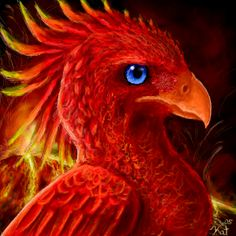 Phoenix of the Volcanoes by kalicothekat on @deviantART