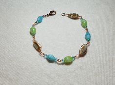 Hey, I found this really awesome Etsy listing at https://www.etsy.com/listing/510853473/beaded-ocean-bracelet