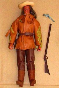 Vintage 70'S BIG JIM Mattel Karl MAY OLD Surehand Doll Action Figure Loose | eBay