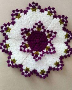 Puff Stitch Crochet, Crochet Motif, Crochet Doilies, Crochet Flowers, Free Crochet, Crotchet Patterns, Crochet Stitches Patterns, Baby Knitting Patterns, Crochet Designs