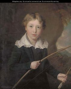 Portrait of a Young Boy by William J. Pringle (1805-1860)
