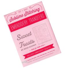 Sublime Stitching Sweet Treats Embroidery Pattern
