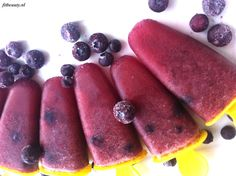 Recept: Watermeloen en bosbessen waterijs! - Fitbeauty