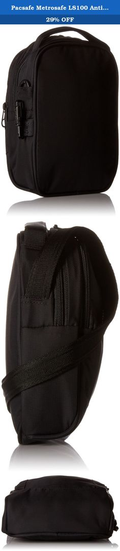 Pacsafe Metrosafe LS100 Anti-Theft Cross-Body Bag, Black. The revamped Metrosafe LS100 Anti-Theft Cross-Body Bag from Pacsafe stays true to its classic design heritage, while providing functionality and seamlessly integrated security technology. The bag's fabric is embedded with eXomesh slash guard, a lightweight flexible, stainless steel wire mesh that protects your gear from a quick slash-and-run theft. Flexible, stainless steel wire runs through the adjustable Carrysafe slash guard...