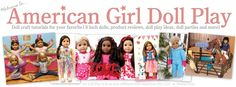 This lady's blog has TONS of great American Girl stuff from clothing and shoe tutorials to crafts and such.