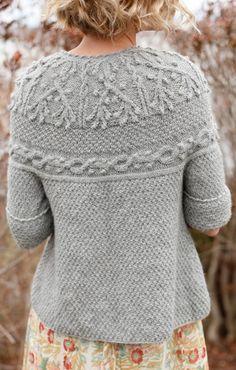 Knit Cardigan Pattern...