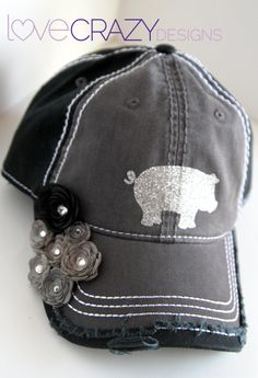 Show mom baseball hat by LoveCrazyDesigns on Etsy