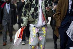"""Street style: MEN FW f/w 2013/2014 - """"flight jackets"""""""