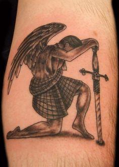 Guardian Angel Tattoo  LOVE this idea!