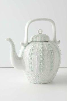 A mermaids tea? Urchin tea set from Anthropolgie.