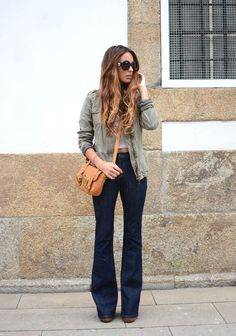 Flared jeans LOOK #1